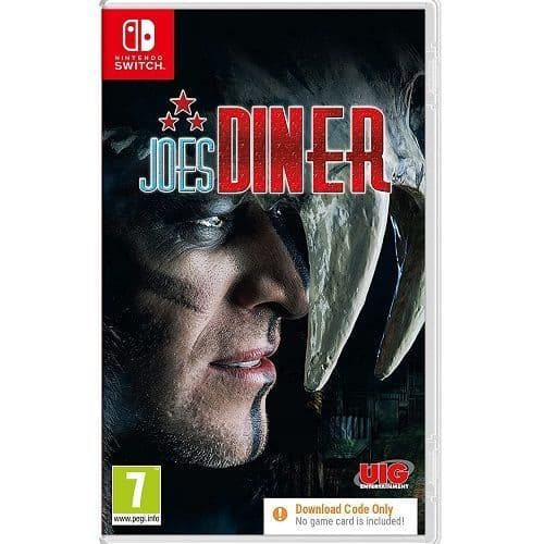 Joes Diner [Code In Box] Nintendo Switch Game